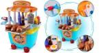 Amazon: Pretend Playset Kitchen Toys Food Store Cart for Kids Set $9.1 ($26)