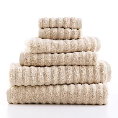 Walmart: 6-Piece Bath Towel Set – Papyrus Beige For $16.80