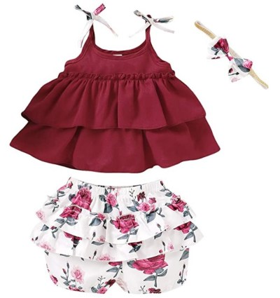 Amazon: Toddler Baby Girl Summer Outfits, Just $10.99 - $12.09 (Reg $15.99 - $19.99)