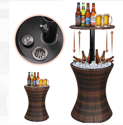 Walmart: Cool Bar Patio Beverage Cooler Table for Only $69.75 + Free Shipping (Reg $117)