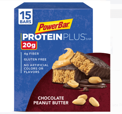 Walmart: PowerBar Protein Plus Bar Chocolate Peanut Butter, Just $12.50
