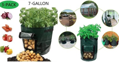 Amazon: 7 Gal Garden Vegetables Planter Bags w/ Handles $9.8 ($20)
