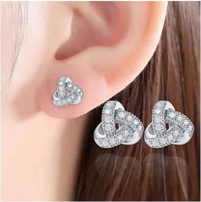 Amazon: Lightweight Ear Stud Zirconia Earrings $4.99 (Reg. $49.9)
