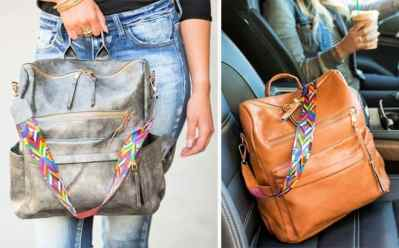 Jane: Melea Convertible Bag ONLY $32.99 (Regularly $60) – Many Colors Available!