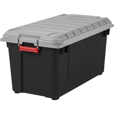 Home Depot: 82 Qt. Weathertight Store-It-All Storage Bin, Black For $30.75 (Was $44)