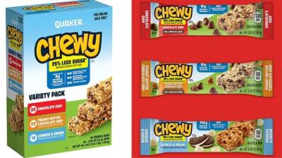 Amazon: Quaker Chewy Granola Bars 58-Pack Variety Pack ONLY $10.17