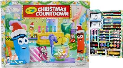 Kohl's: Crayola Christmas Countdown Advent Calendar JUST $9.99 (Reg $20)