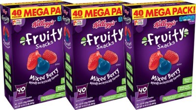 Amazon: Kellogg's Fruity Snacks 40-Pack Mixed Berry ONLY $5.59