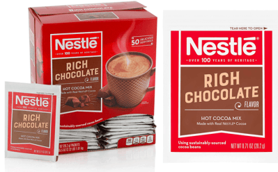 Amazon: Nestle Hot Cocoa Rich Chocolate 50-Count ONLY $5.62
