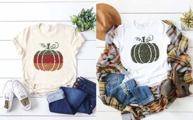 Jane: Trendy Pumpkins Tee ONLY $14.99 (Regularly $29) – Many Colors!