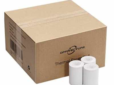 Amazon: 50 Rolls Thermal Paper for $6.95 (Reg. Price $11.49)