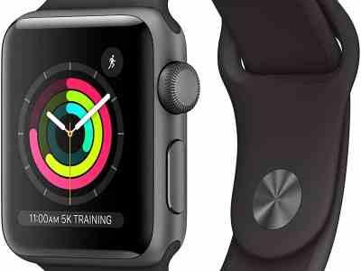 Amazon: Apple Watch Series 3, Just $169.00 (Reg $199.00)