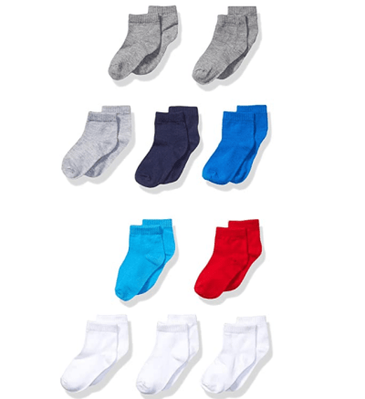 Amazon: Hanes Boys' Toddler Ankle Sock 10-Pack ONLY $5.50 (Reg. $8.47)