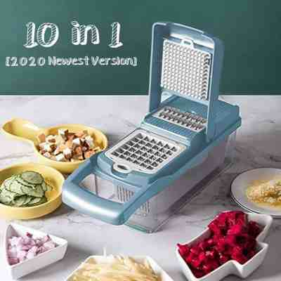 Amazon: Vegetable Chopper with 7 Blades For $18.19