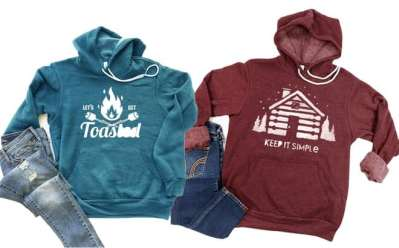 Jane: Comfy Fleece Camping Hoodies ONLY $28.99 + FREE Shipping (Regularly $60)