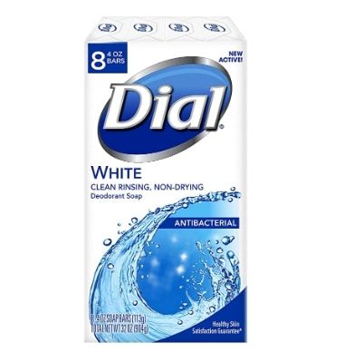 Amazon: Dial Antibacterial Deodorant Soap, White for $5.19 (Reg. Price $9.99)