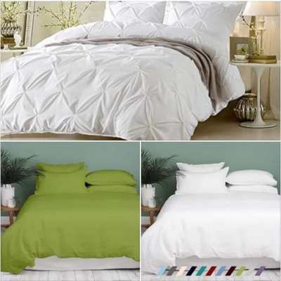 Amazon: Egyptian Cotton Duvet Covers, 50% off
