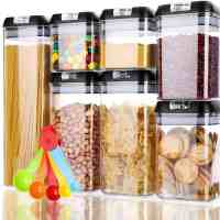 Amazon: Glotoch Food Storage Containers, 7 Pieces Only $15.59