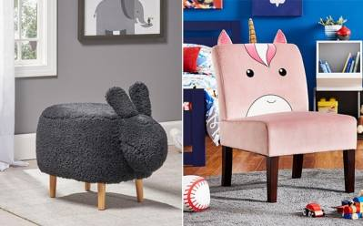Home Depot: Kid's Novelty Chairs Starting at ONLY $58.74 (Reg $89) + FREE Shipping