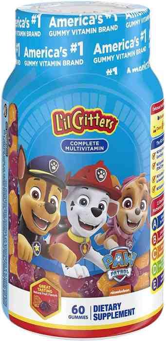 Amazon: L'il Critters Paw Patrol Complete Multivitamin Gummies for $4.98 (Reg.Price $7.99)