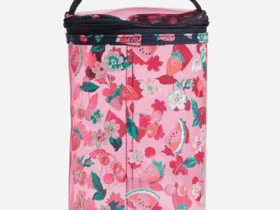 Vera Bradley: Lotion Bag, Rosy Garden Picnic ONLY $17.50 (Reg $35)