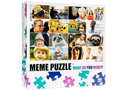 Woot: WHAT DO YOU MEME? Grid 500 Piece Jigsaw Puzzle For $9.45 (Reg $14.99)