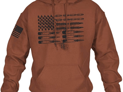 Amazon: Save 70% on Lveberw Mens American Flag Pullover Hoodie