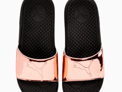 Puma: Cool Cat Sport Foil Women's Slides ONLY $14.99 (Reg $30)