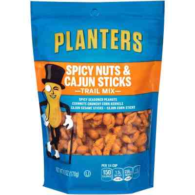 Amazon: Planters Spicy Nuts & Cajun Stick Trail Mix Pack of 12 ONLY $13.62