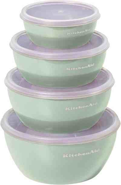 Amazon: Set of 4 KitchenAid Meal Prep Bowls with Lid For $8.97