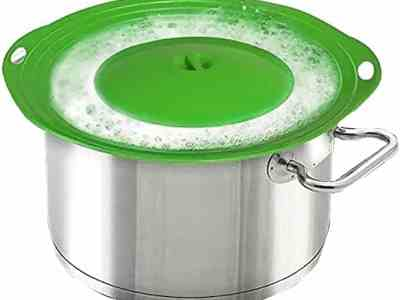 Amazon: MIBOW Spill Lid Stopper for Pots and Pans – Double Discount!
