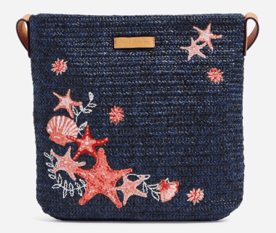 Vera Bradley: Straw Crossbody ONLY $27.50 (Reg $55)