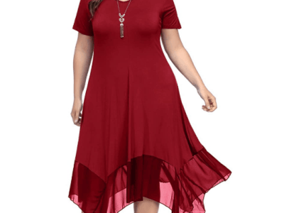 Amazon: Plus Size Women's Short Long Sleeve Irregular Casual T-Shirt Swing Dress $12.1 ($27) Amazon: Plus Size Women's Short Long Sleeve Irregular Casual T-Shirt Swing Dress $12.1 ($27)