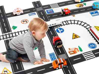 Amazon: DIY Traffic Sign Train Track Model for Kids As Low As $9.01