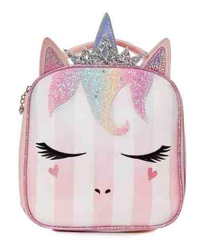 Zulily: Pink & White Stripe Queen Miss Gwen Unicorn Lunch Bag ONLY $12.99 (Reg. $28.00)