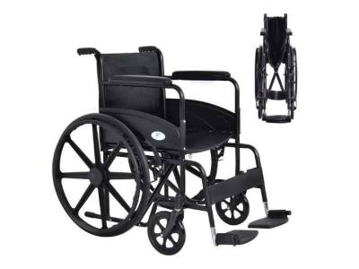 Until Gone: Lightweight Foldable 24'' Wheelchair with Footrest $119.99 (Reg $298.95)