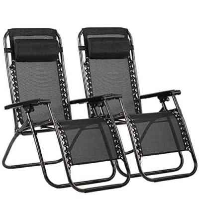 Walmart: 2 Pack Zero Gravity Chairs with Adjustable Pillow Only $99.99
