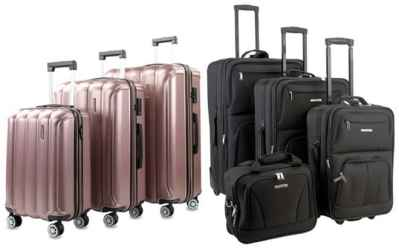 Home Depot: Luggage Sets Up To 80% OFF (Starting at ONLY $32.92) – Many Designs!