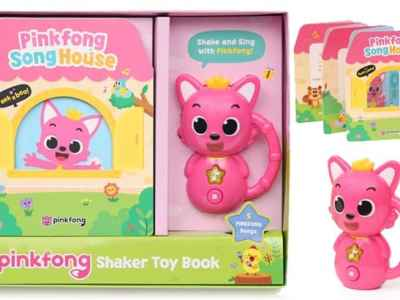 Amazon: Pinkfong Official Shaker Toy Book JUST $9.99 + FREE Shipping (Regularly $25)
