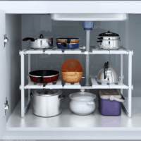 Under Sink Stackable Storage Shelf $12.67(Reg. $21.11)