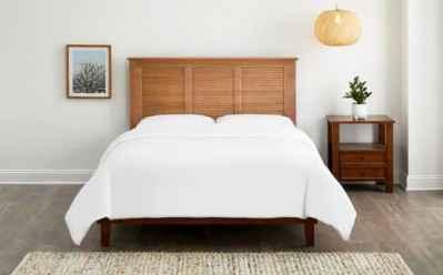 Home Depot: StyleWell Dorstead Walnut Finish Full Bed JUST $160 (Reg $321)