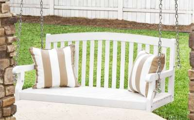 BCP: Wooden Porch Swing with Hanging Chains ONLY $151 (Reg $327) Shipped!