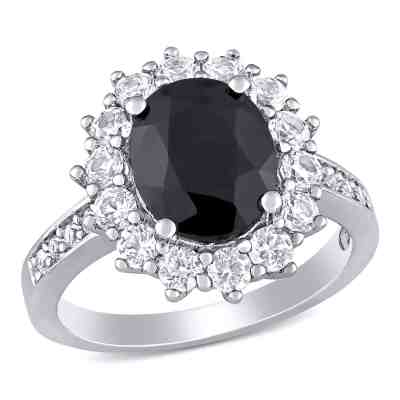 Sam's Club: 5.02 CT. T.W. Oval Cut Black Sapphire In Sterling Silver For $49.98 Shipped.