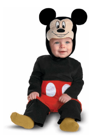Walmart: Disney Mickey Mouse Halloween Costume for ONLY $15 – So Cute!