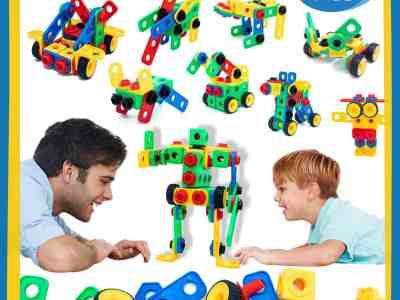 Amazon: 101 Pcs STEM Toys for Kids-Construction Building Blocks $12 ($20)