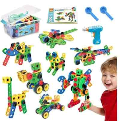 Amazon: 108 Pcs Learning Toy Building Kits for $16.99 (Reg. Price $33.98) after code!