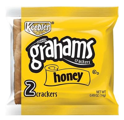 Staples: 200PK Keebler Honey Grahams Crackers .49 Oz. for $16.40 (Reg. Price $33.42)