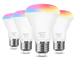 Amazon: 4 Pack Smart Light Bulb RGB Color Changing Light for $8.50 W/ Code (Reg. $29.99)