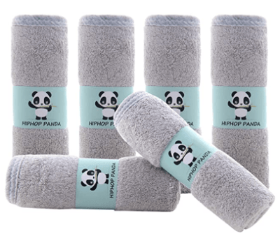 Amazon: 6 Pack Hypoallergenic Bamboo Baby Wash Clothes for $6.49 W/ Code (Reg. $12.99)