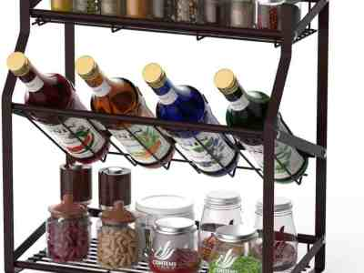 Amazon: 3 Tier Kitchen Spice Rack for $12.99 (Reg.Price $21.65) after code!